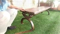 学会了这几个步骤,安装公园椅轻松自如