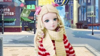 叶罗丽趣味故事冰公主冬天穿短裙不怕冷灵公主超怕冷去买羽绒服