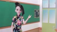 叶罗丽故事换新教室排座位,全班谁都不想坐在第一排
