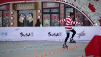2019 上海城市业余联赛 花式绕桩 少女乙组 2nd 沈立晶,米高成长中心轮滑
