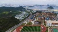 峰程7080航拍广西防城港理工职业学校高清航拍视频