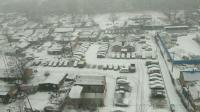 北京下雪了,看落雪三千,那叫一个白啊