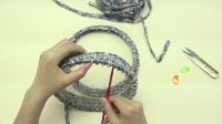 妍色手作----N手工编织泫雅同款小香风包包小红书泫雅包钩针包视频教程【带盖子】