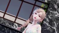 【闪耀暖暖MMD】纯白栀子-流光花蔓