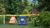 变形警车珀利 第二季:经过布迪三人的不懈寻找,终于在树林里找到那个老房屋