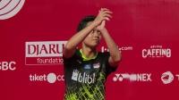 2020印尼羽毛球大师赛男单决赛集锦