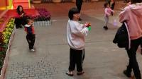 2020.1.20去增城广场行花街,人太多了