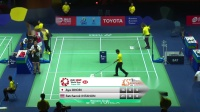 2020.01.24 QF 大堀彩 vs 因达农 - 2020泰国羽毛球大师赛