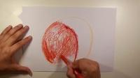 看视频学画画之水蜜桃,5分钟学会一幅画,兴趣班的钱也省啦