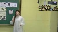 部编赣美版小学美术五年级下册第12课《点线面 黑白灰》优质课教学视频,江西省