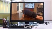 50 Half Reps Push Ups Challenge for 30days