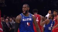 【2020全明星】戴维斯集锦 砍下20分9篮板多次虐筐上演罚球绝杀