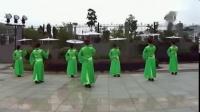 阿中中广场舞伞舞《梦江南》与阿中中教学_高清