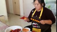 冰糖葫芦的做法,卖冰糖葫芦啦,简单易做,自己在家做卫生干净