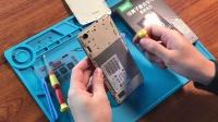 荣耀5A换电池教程华为荣耀畅玩5a更换手机内置电板华为5A换电池拆机维修视频