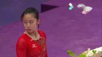 2018亚运会体操女子个人全能决赛第一组1