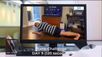 Plank Challenge for 30 days