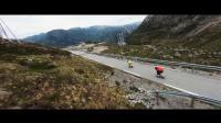 无人机高清航拍,踩着公路滑板《穿越挪威》