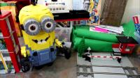 乐高,凯文,鲍勃,小黄人,格鲁的崛起Lego Kevin Bob Minions