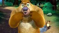 熊出没:狗熊岭的熊二好幸福,每天都能吃到天然无公害的水果.mp4