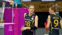 瓦基弗 vs 伊萨奇巴希 - 2019/2020土耳其女排联赛第22轮
