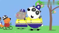小猪佩奇:小狐狸也想当警察,因为最想吹哨子,想得太简单了!