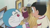 哆啦A梦:真是小机灵鬼,没人也会出现回音,逼着社长从家里出去!