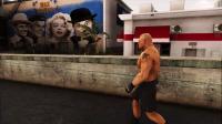 GTA5超真实ENB下雨天画质!地上有水面反射【WWE布洛克MOD展示】