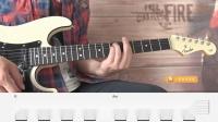 【练习4】重金属节奏吉他第二册示范演奏