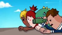 搞笑吃鸡动画:霸哥小队对战四胞胎,结果两队同归于尽