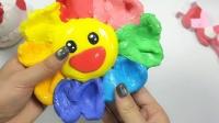 彩虹七色花的声控解压球,捏碎后还能复原超解压
