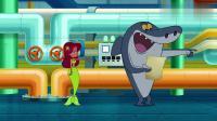 鲨鱼哥和美人鱼:美人鱼给土狗穿上衣服,真是漂亮啊!