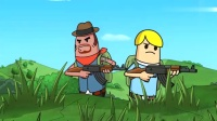 搞笑吃鸡动画:霸哥吃鸡匹配重口音队友,真是坑人