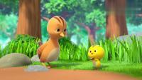 萌鸡小队:美佳妈妈让萌鸡们找石头,麦奇找到和他很像的石头.