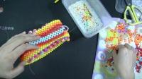 小号心形泫雅包彩虹款第二节视频教程  DIY手工串珠包包 手工编织教程