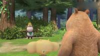 熊熊乐园:吉吉骗熊二花生被精灵偷走,单纯的熊二竟然相信了!