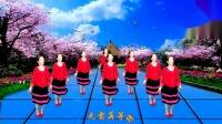 龙门红叶广场舞【情花几时开】编舞【雪妹舞翩翩】