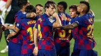 西甲-梅西助攻拉基蒂奇破门 巴萨1-0毕尔巴鄂重回榜首