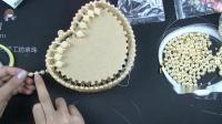 小号心形泫雅包珍珠款第二节视频教程 DIY手工串珠包包 手工编织包