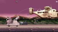 PC《愤怒的小鸟里约大冒险HD》第四章Smugglers' Plane关卡30