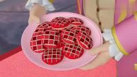 小公主苏菲亚:粉红色的茶点聚会,但是糕点怎么是这个颜色!
