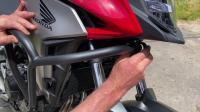 GIVI 2020 Honda CB500X发动机上杠安装