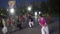 雪冰青春活力广场舞~湘府舞队《呼伦牧歌》演示;集体
