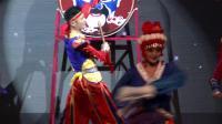 2.古典舞《争奇斗艳》