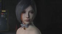 黑丝兔女郎艾达王在线撩人 生化危机2重制版过场动画剪影