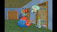 海绵宝宝章鱼哥想吃有妈妈味道的饼干,蟹老板把他妈妈接了过来!