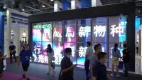 精彩重现2020广州铝门窗展,晶泓LED光电玻璃屏大放光彩