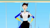 AE模板-卡通女性角色人物解说MG动画片头 Corporate Female Character Toolkit Vol.1