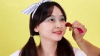 小伶玩具:芭比巨大口红化妆箱!小伶挑战被坤坤化妆! 第5集