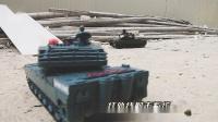 红外线遥控射击小坦克